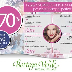 In più 4 SUPER OFFERTE MAKE-UP